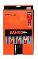 Bahco B220.017 BahcoFit 7Pcs Insulated Scd Set Slot/Pz