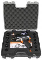 "Bahco BPM915K1 1/2"" impact wrench set- Bpm915K1+10-24mm Imp.Sockets S"