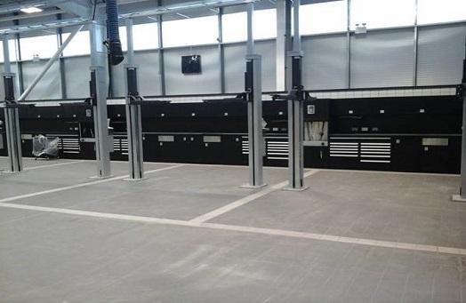 Mercedes Benz Newcraighall, Edinburgh | New workshop fitout